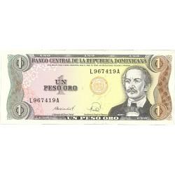 Dominicana.-Rep. 1 Pesos. 1988. SC. PIK. 126 a