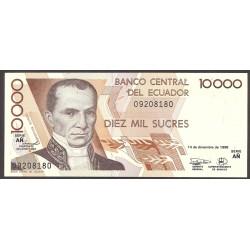 Ecuador 10000 Sucre. 1998. SC. PIK. 127 c