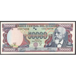 Ecuador 50000 Sucre. 1999. SC. PIK. 130 a