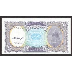 Egipto 10 Piastras. 1999. SC. PIK. 189