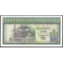 Egipto 20 Libra/Pound. 1978. SC. PIK. 48