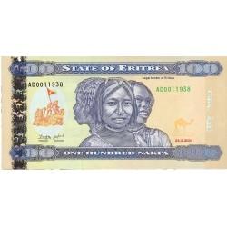 Eritrea 100 Nakfa. 2004. 24-05. SC. PIK. Nuevo