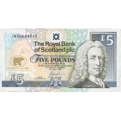 Escocia 5 Libra/Pound. 2005. SC. (J.Nicklaus). PIK. Nuevo