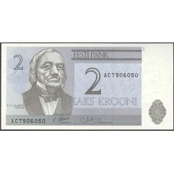 Estonia 2 Kroon/i. 1992. SC. PIK. 70