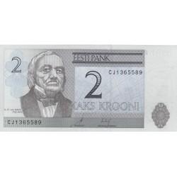 Estonia 2 Kroon/i. 2007. SC