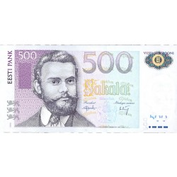 Estonia 500 Kroon/i. 2000. SC. PIK. 83