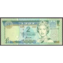 Fiji.-Islas 2 Dolar. 2002. SC. PIK. 97