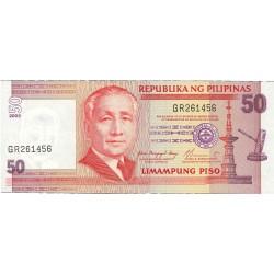 Filipinas 50 Piso. 2003. (s/f). SC. PIK. 193