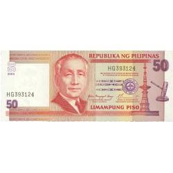 Filipinas 50 Piso. 2004. (s/f). SC. PIK. 193