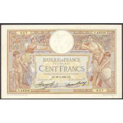 Francia 100 Francos. 1934. -29-Marzo. EBC. (Doblez). PIK. 78 c