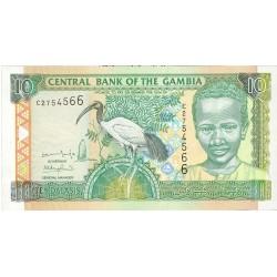 Gambia 10 Dalasis. 2001. (s/f). SC. PIK. 21