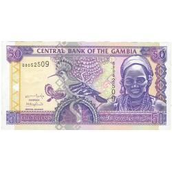 Gambia 50 Dalasis. 2001. (s/f). SC. PIK. 23