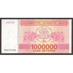 Georgia 1000000 Lari. 1994. SC. PIK. 52
