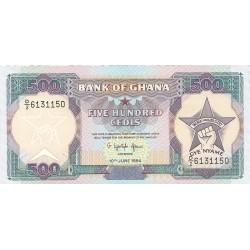 Ghana 500 Cedis. 1994. 10-06. SC. PIK. 28 c