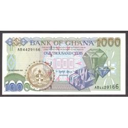 Ghana 1000 Cedis. 1996. SC. PIK. 32 a