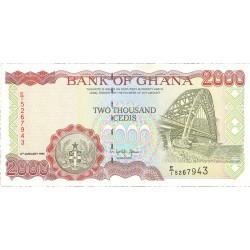 Ghana 2000 Cedis. 1995. SC. PIK. 30