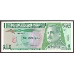 Guatemala 1 Quetzal. 1992. SC. PIK. 73