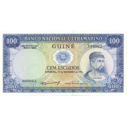 Guinea Bisau-(Portuguesa) 100 Escudos. 1971. SC. PIK. 45 a