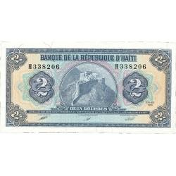 Haiti 2 Gourde. 1990. SC. PIK. 254 a