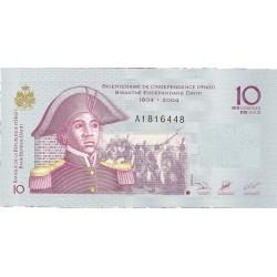Haiti 10 Gourde. 2004. SC. PIK. 272