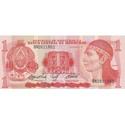 Honduras 1 Lempira. 1984. /18/10. SC. PIK. 68 a