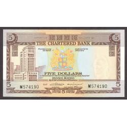 Hong Kong 5 Dolar. 1975. SC. PIK. 73 b