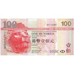 Hong Kong 100 Dolar. 2003. SC. PIK. 209