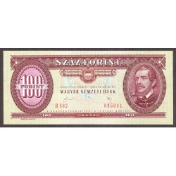 Hungria 100 Forint. 1989. SC. PIK. 171 h