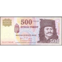 Hungria 500 Forint. 2005. SC. PIK. 188