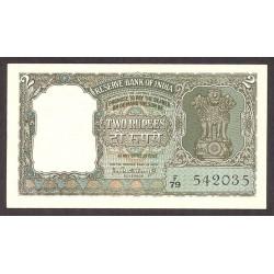 India.-Rep. 2 Rupia. 1962. SC. PIK. 31