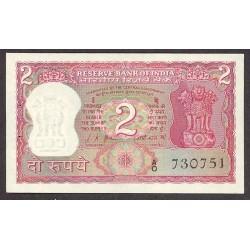 India.-Rep. 2 Rupia. 1967. SC. PIK. 67 a