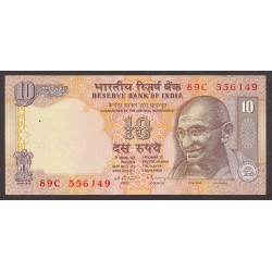 India.-Rep. 10 Rupia. 2002. SC. PIK. 89 a