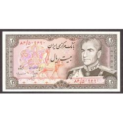 Iran 20 Rial. 1974. SC. PIK. 100 a