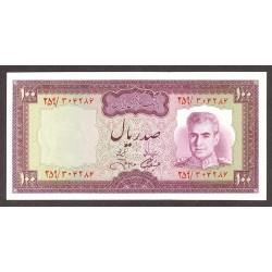 Iran 100 Rial. 1971. SC. PIK. 91 c