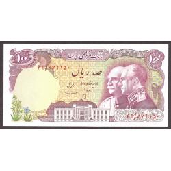 Iran 100 Rial. 1976. SC. PIK. 108