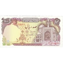 Iran 100 Rial. 1981. (s/f). SC. PIK. 132