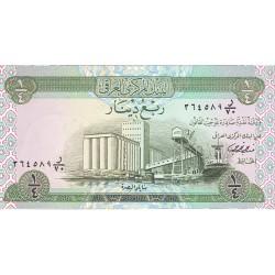 Iraq ¼ Dinar. 1973. (s/f). SC. PIK. 61