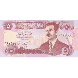 Iraq 5 Dinar. 1992. (AH-1412). SC. PIK. 80