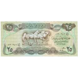Iraq 25 Dinar. 1982. SC. PIK. 72