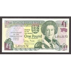 Jersey 1 Libra/Pound. 1995. SC. PIK. 25 a