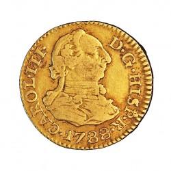 España ½ Escudos. 1788. S-(Sevilla). C. MBC-. 1,72gr. AU. Ley:0,875. CT. 731. Ø15mm