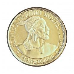 Lesotho 10 Licente. 1966. PRF. 5,68gr. AG. Ley:0,900. KM. 2. Ø21mm