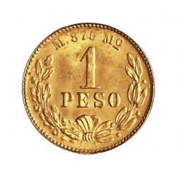 Mejico 1 Pesos. 1902. Mejico. SC. (Su tono). 1,692gr. AU. Ley:0,875. (Imagen tipo). KM. 410.5. Ø14mm