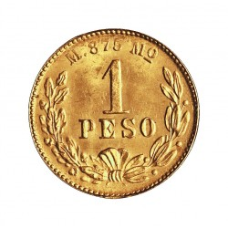 Mejico 1 Pesos. 1903. Mejico. SC. (Su tono). 1,692gr. AU. Ley:0,875. (Imagen tipo). KM. 410.5. Ø14mm