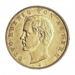 Alemania Estados 3 Marcos. 1910. D-(Munich). SC. (Todo su tono original). 16,667gr. AG. Ley:0,900. KM. 996. Ø33mm