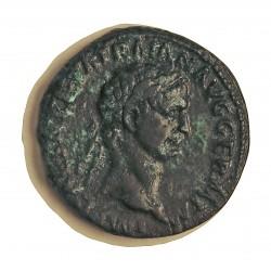 Roma Imperio TRAJANO-(98/117) As. 98. 99. MBC+. Algo de patina verde. 11,8gr. AE. Ley:0,000. CAY. 218. Ø27mm