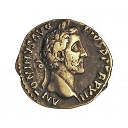 Roma Imperio ANTONINO PIO-(138/161) Denario. 148. 149. MBC. 3,13gr. AG. CAY. 80. Ø18mm