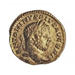 Roma Imperio CARACALLA-(188/217) Denario. 210. 213. EBC/MBC. 2,59gr. AG. CAY. 40 - RIC. 214 S. Ø18mm