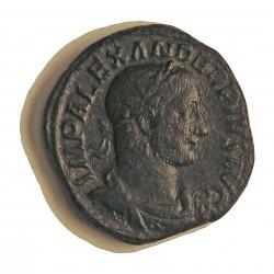 Roma Imperio ALEJANDRO SEVERO-(222/235). Denario. 232. MBC. .Oxilim.. 21gr. AE. Ley:0,000. CAY. 131 Similar - RIC. 642. Ø32mm