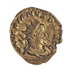 Roma Imperio VALERIANO I-(253/260) Denario. 257. 258. .Colonia Agripensis. 1ª emision. EBC. 3,51gr. AG. CAY. 42 - RIC. 12. Ø23